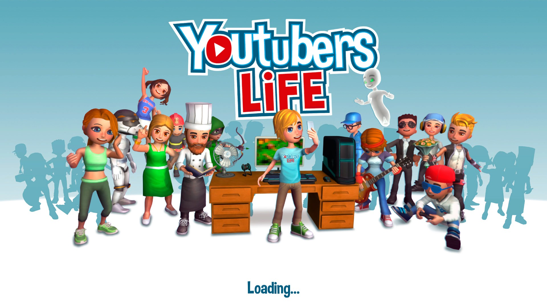 Youtubers Life loading screen
