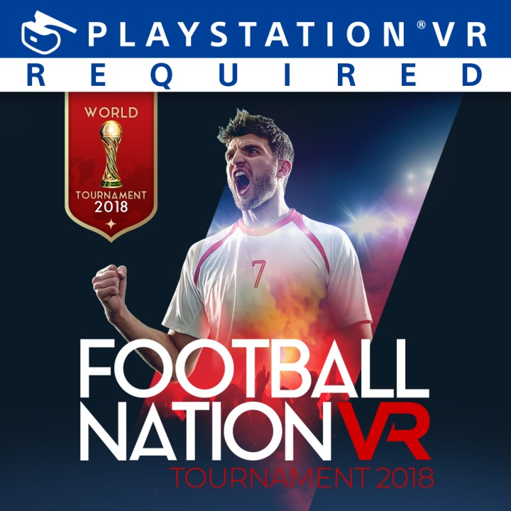 Football Nation VR logo for PSVR