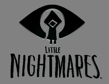 Little Nightmares logo on transparent background