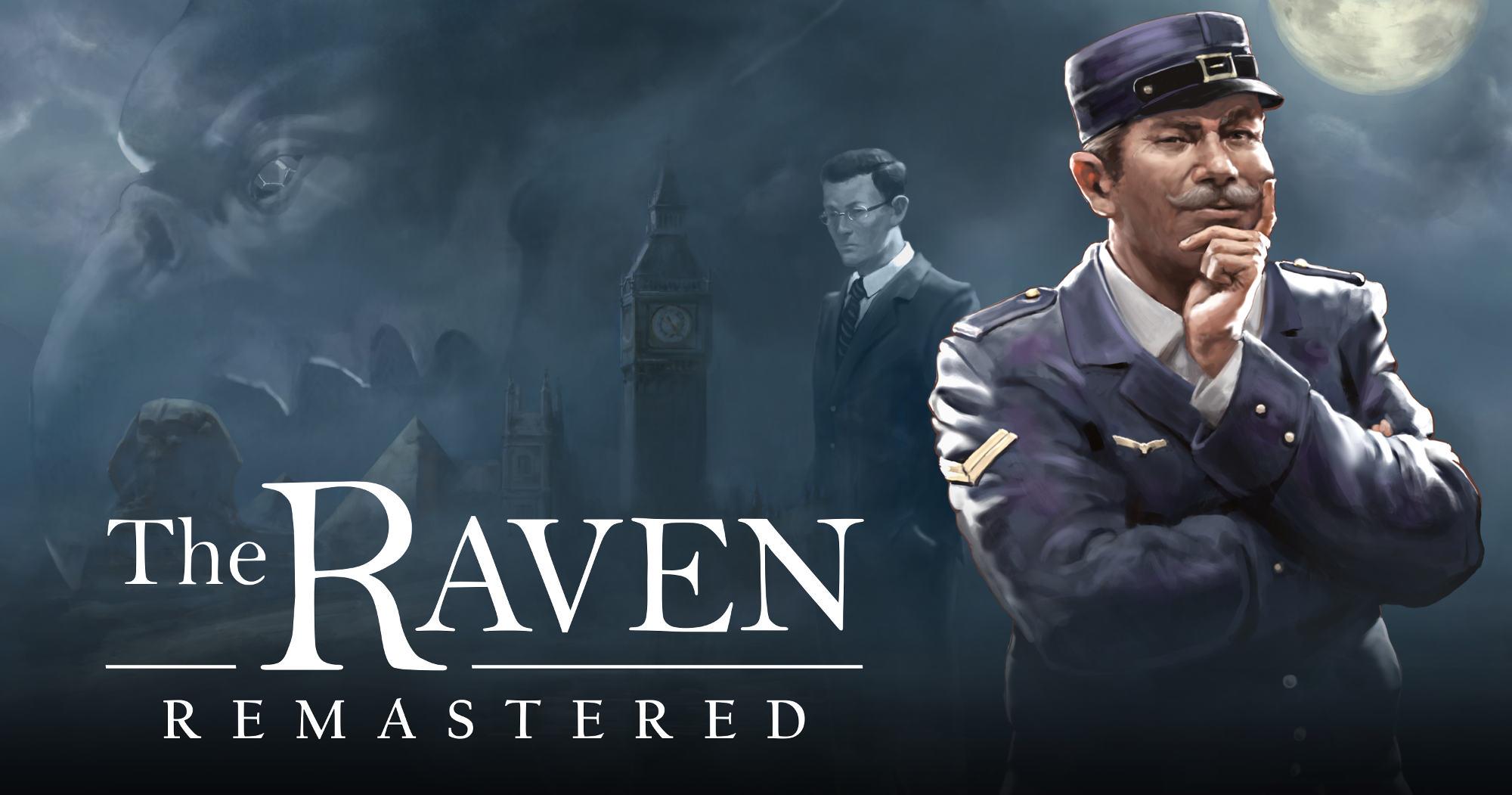 The Raven Remastered logo