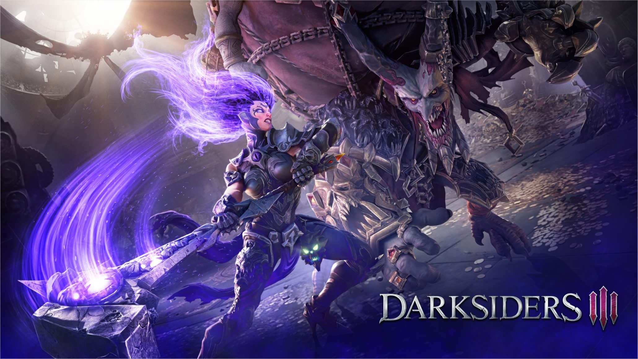 Darksiders III The Crucible Header image
