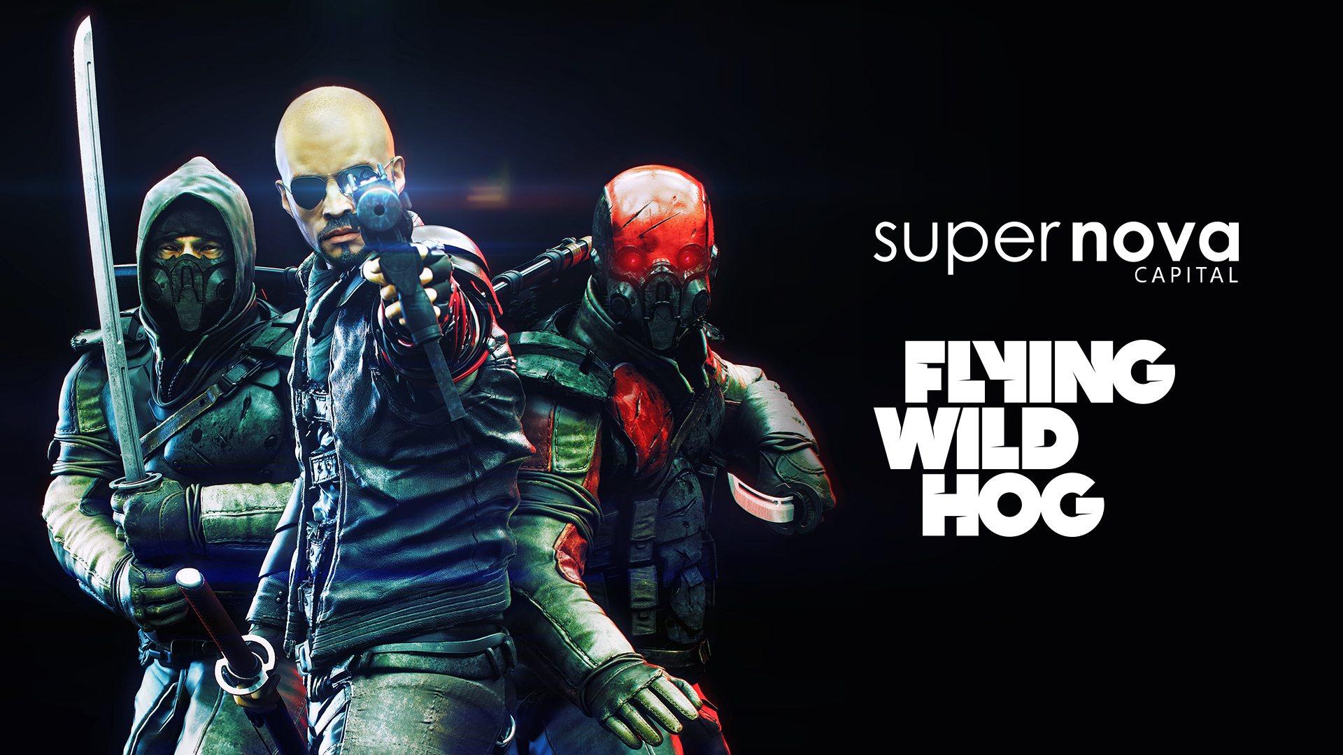 Supernova Capital & Flying Wild Hog logos side-by-side