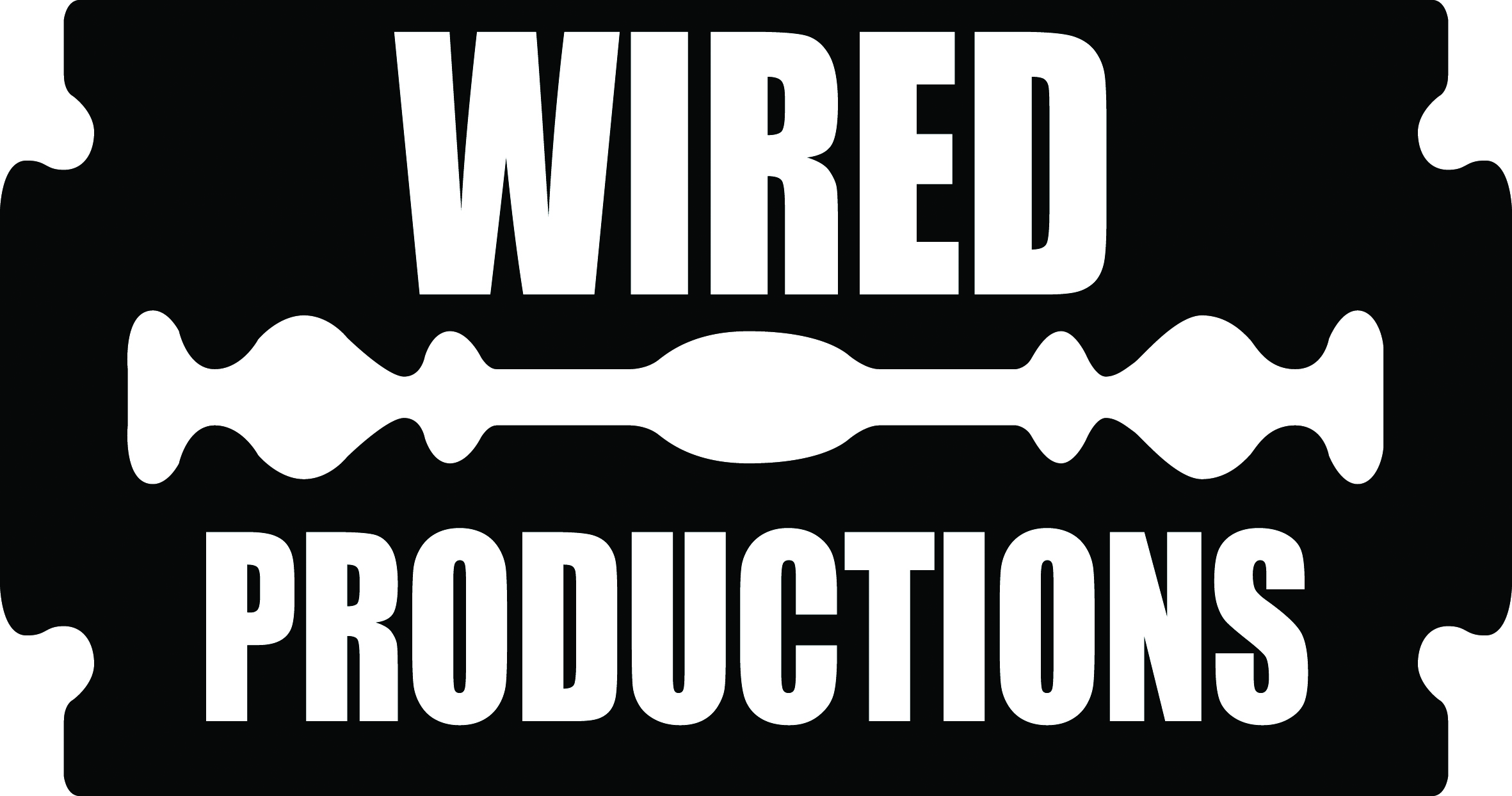 Wired Productions Logo in black