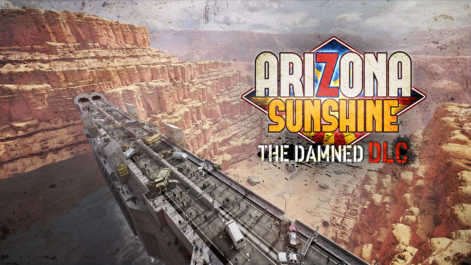 Arizona Sunshine The Damned DLC Key Art