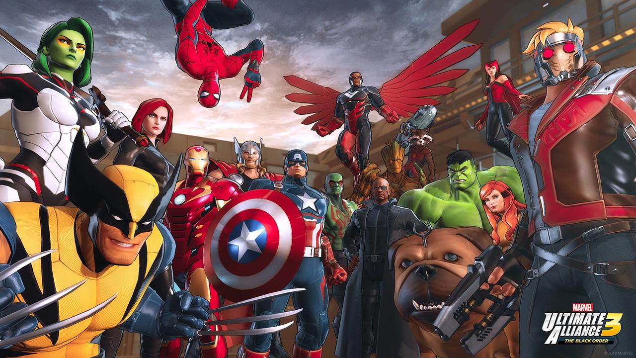 Marvel Ultimate Alliance 3: The Black Order logo