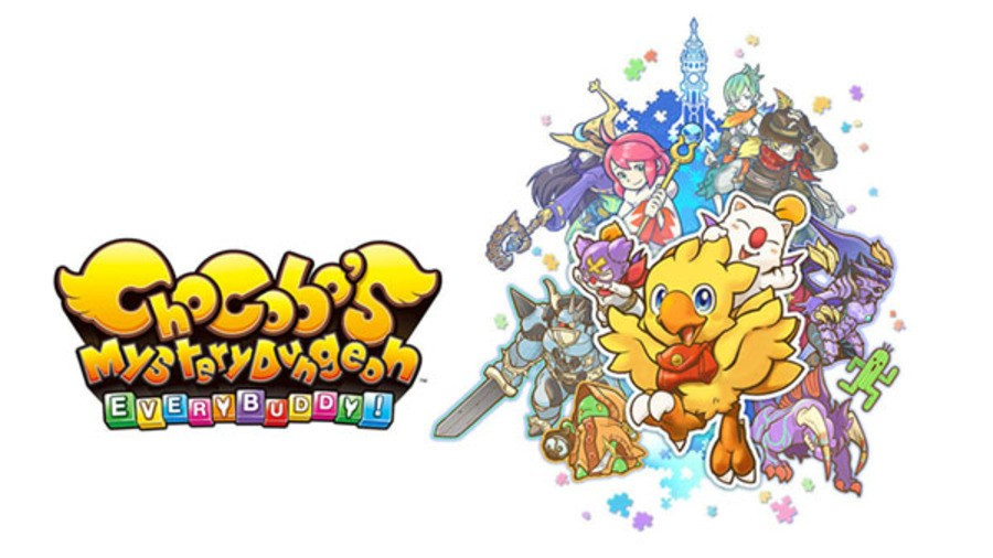 Chocobo's Mystery Dungeon EVERY BUDDY! logo