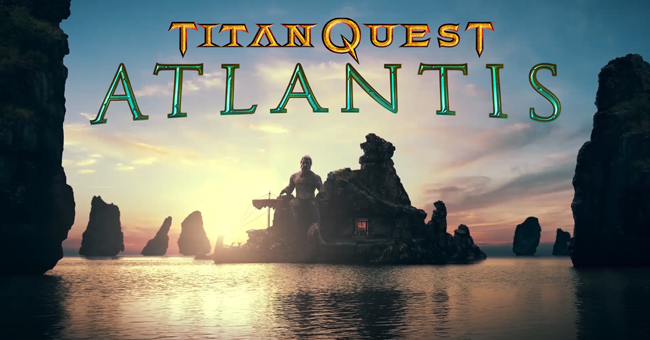 Titan Quest Atlantis logo