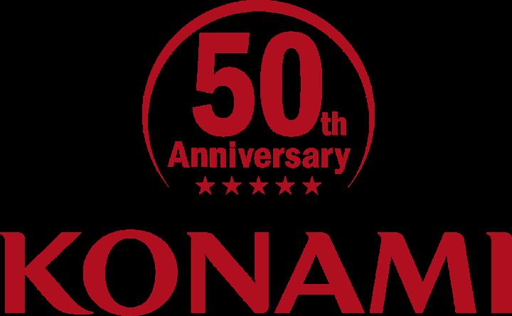 Konami's 50th anniversary logo