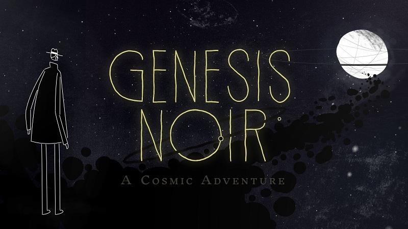 Genesis Noir A Cosmic Adventure logo