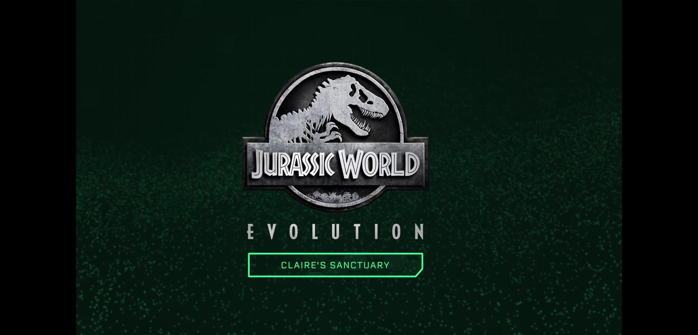 Jurassic World Evolution Claire's Sanctuary logo