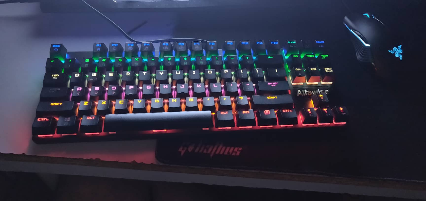 Alfawise K1 Mechanical Gaming Keyboard backlit