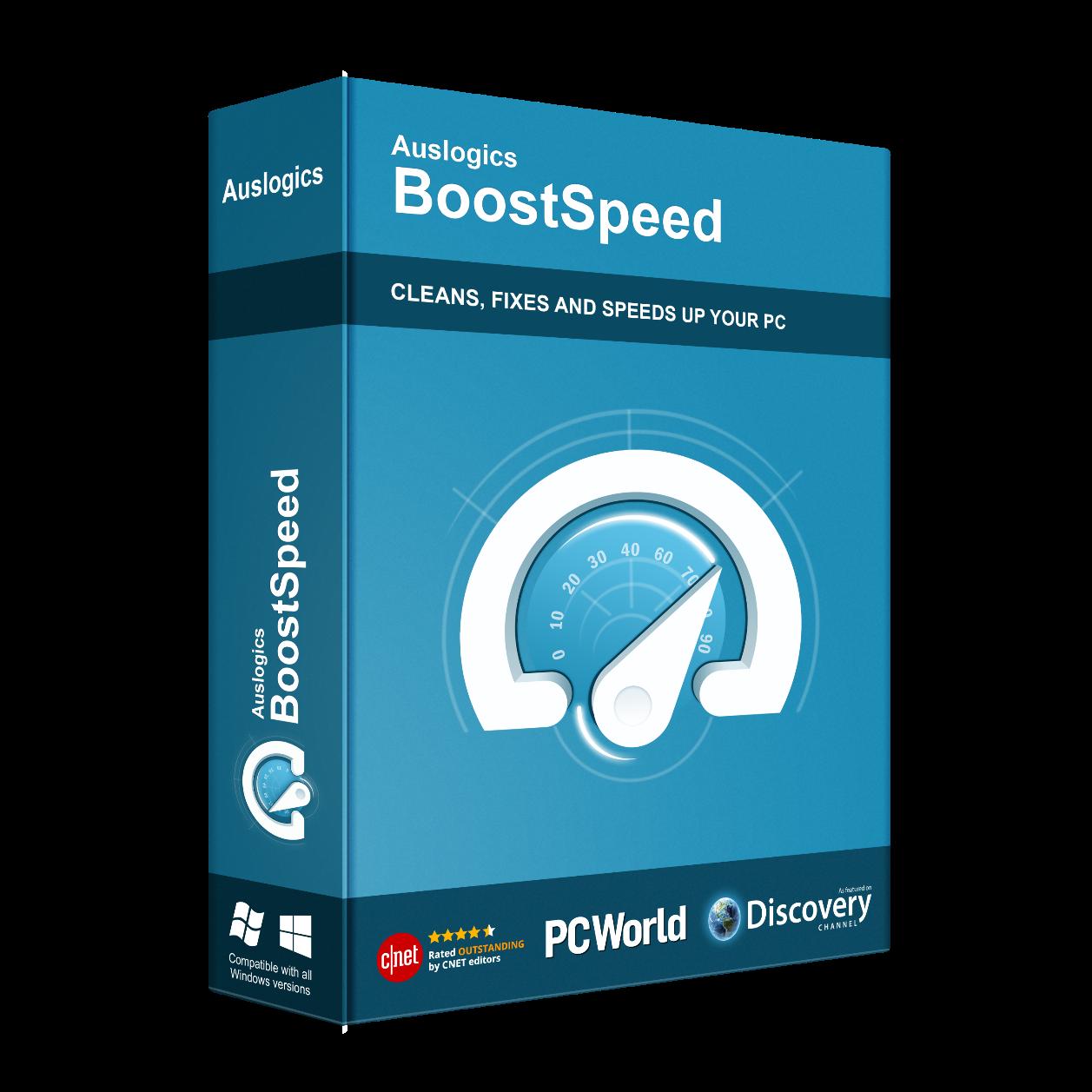 Auslogics BoostSpeed 11 Box