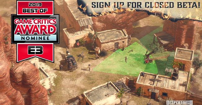 Mimimi Games Desperados III Closed Beta signup