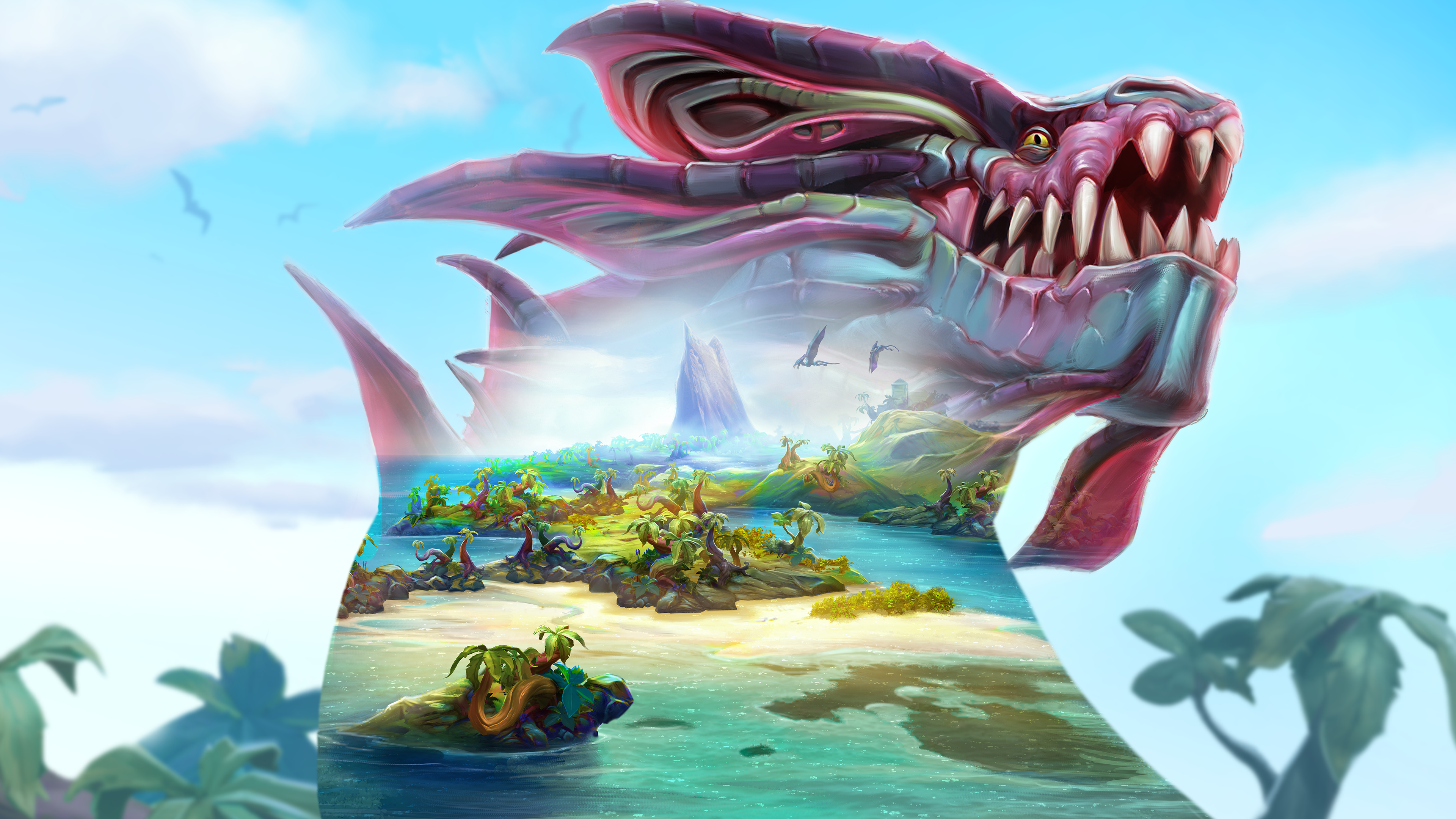RuneScape The Land out of Time artwork