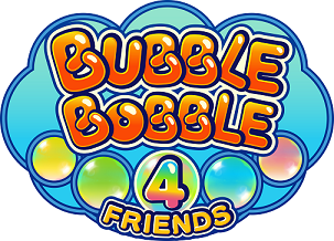 Bubble Bobble 4 Friends logo