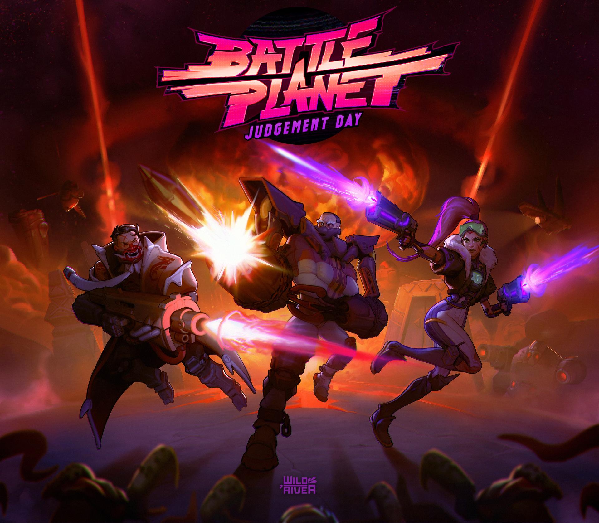 Battle Planet - Judgement Day logo