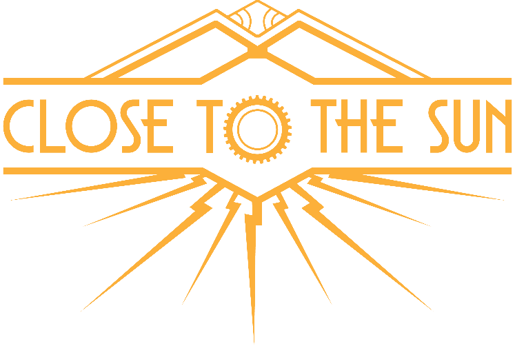 Close to the moon logo