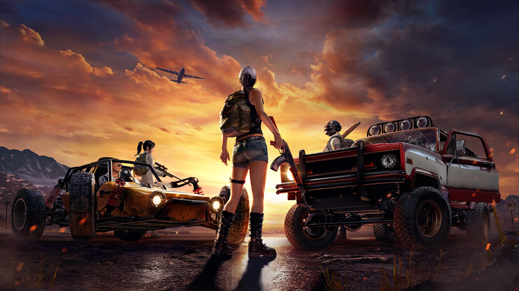 PUBG LITE Key Artwork