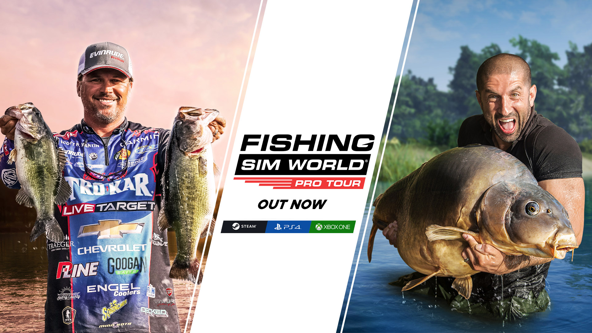 Fishing Sim World: Pro Tour logo
