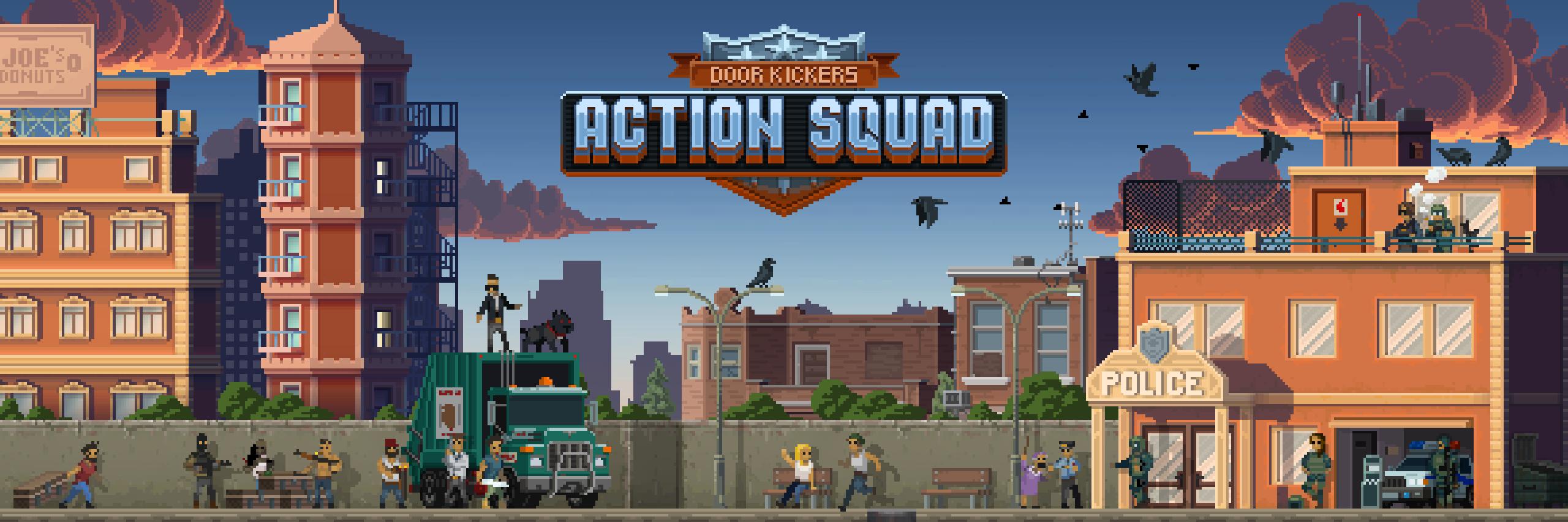 Action squad logo