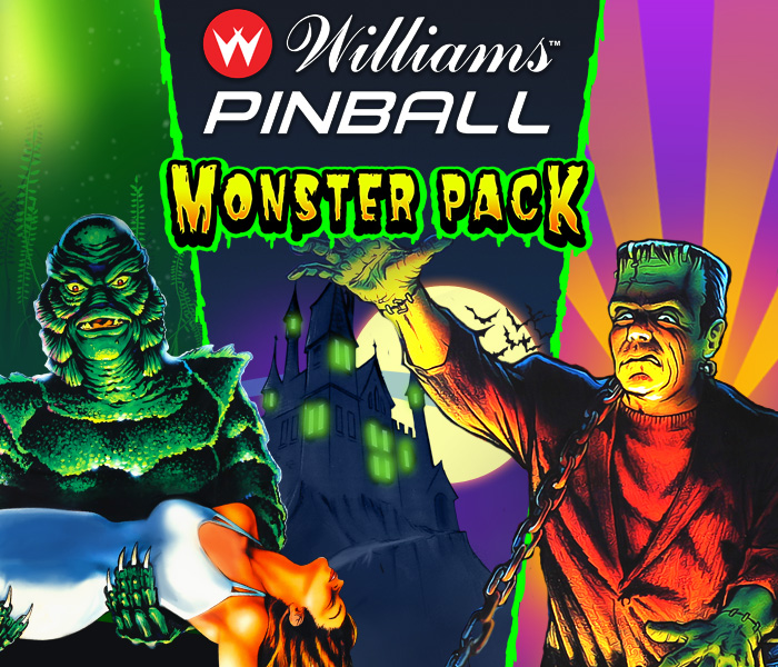 Monster Pack Pinball Logo