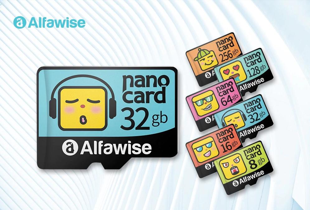 Alfawise Cartoon Face SD Cards