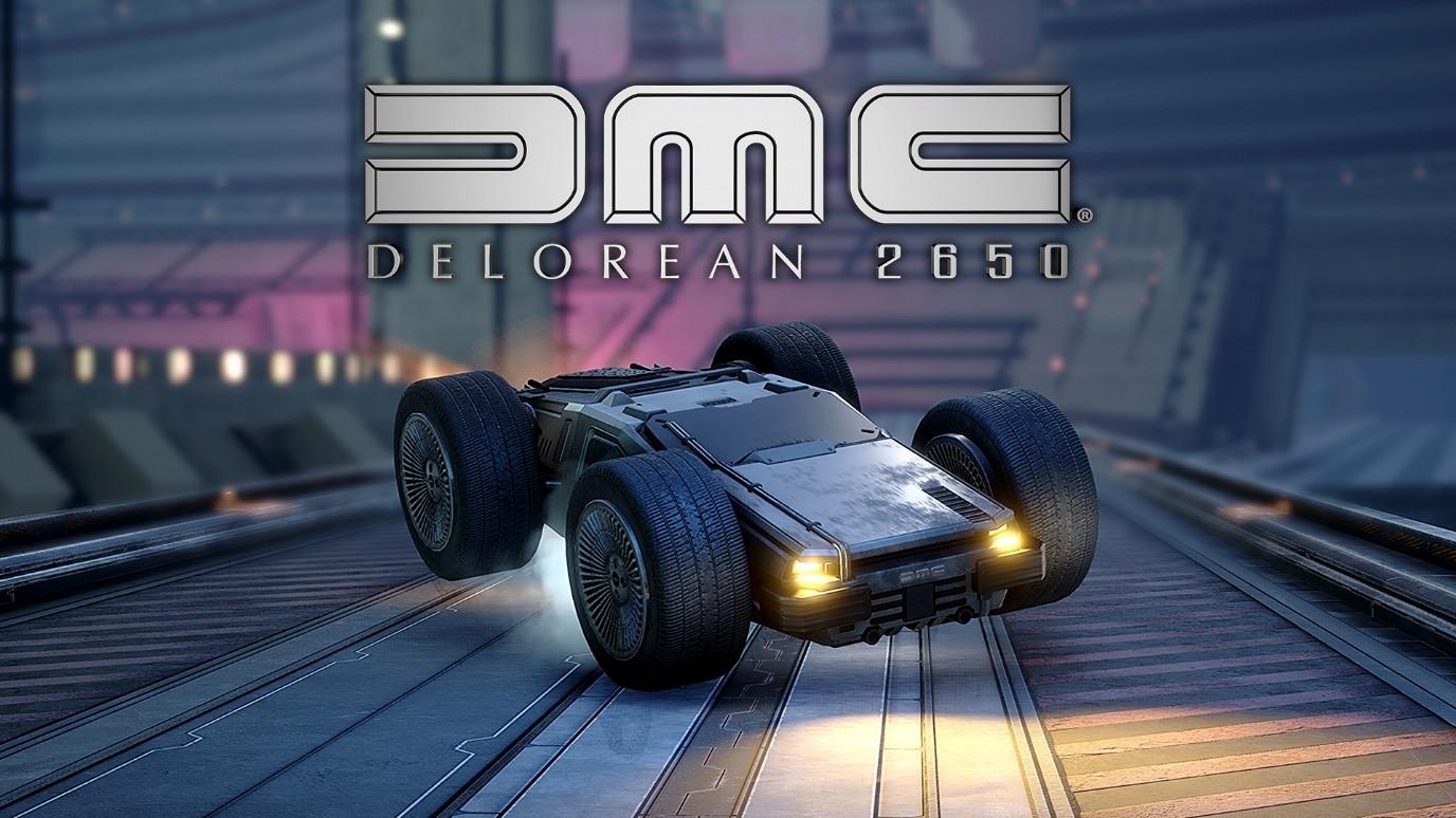 DELOREAN 2650 DLC logo