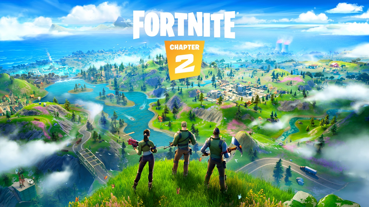Fortnite Chapter 2 logo and artwork