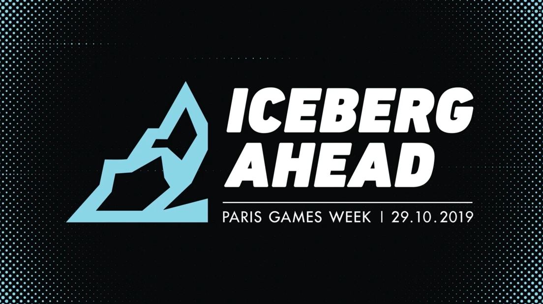 Iceberg Ahead at Paris Games Week logo