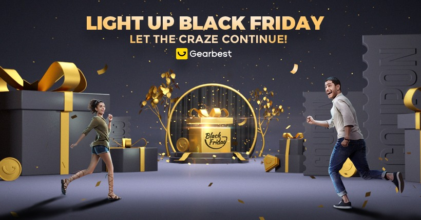 Gearbest Black Friday logo