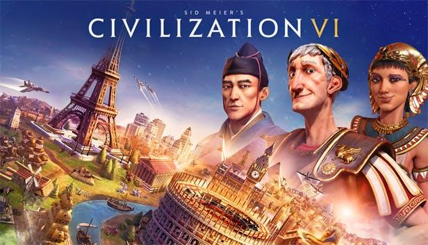 Sid Meier's Civilization VI logo and artwork