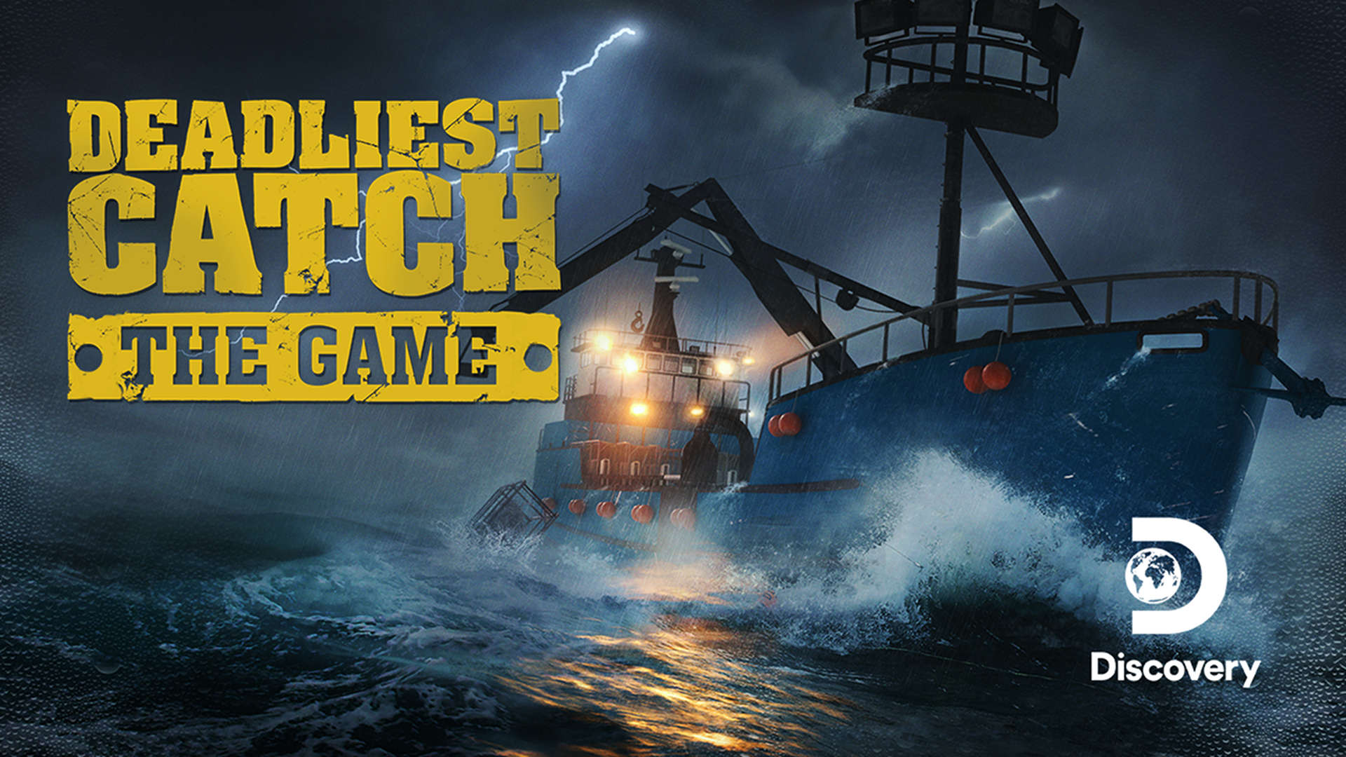 Deadliest Catch: The Game logo