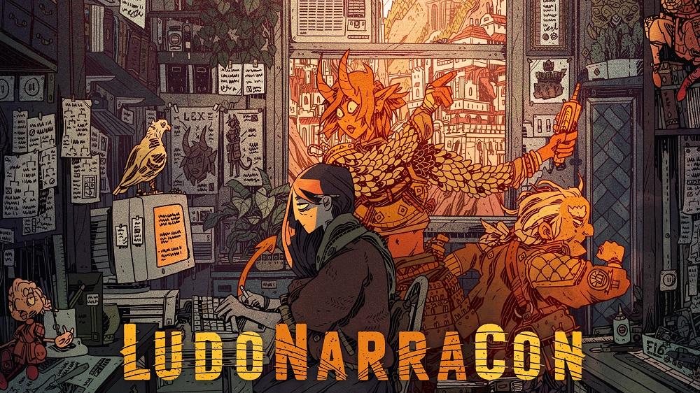 LudoNarraCon logo