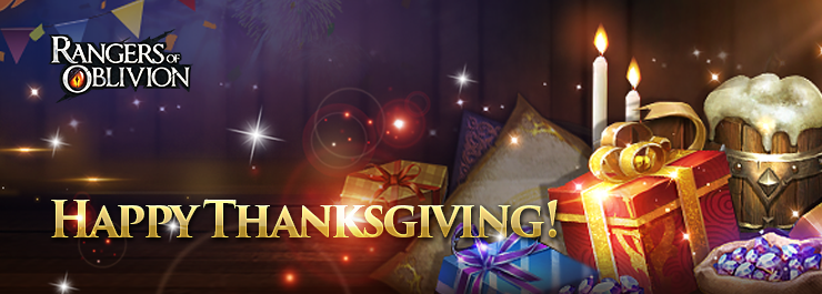 Rangers of Oblivion Thanksgiving Banner