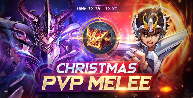 Saint Seiya Awakening: Knights of the Zodiac Christmas PVP Melee Banner