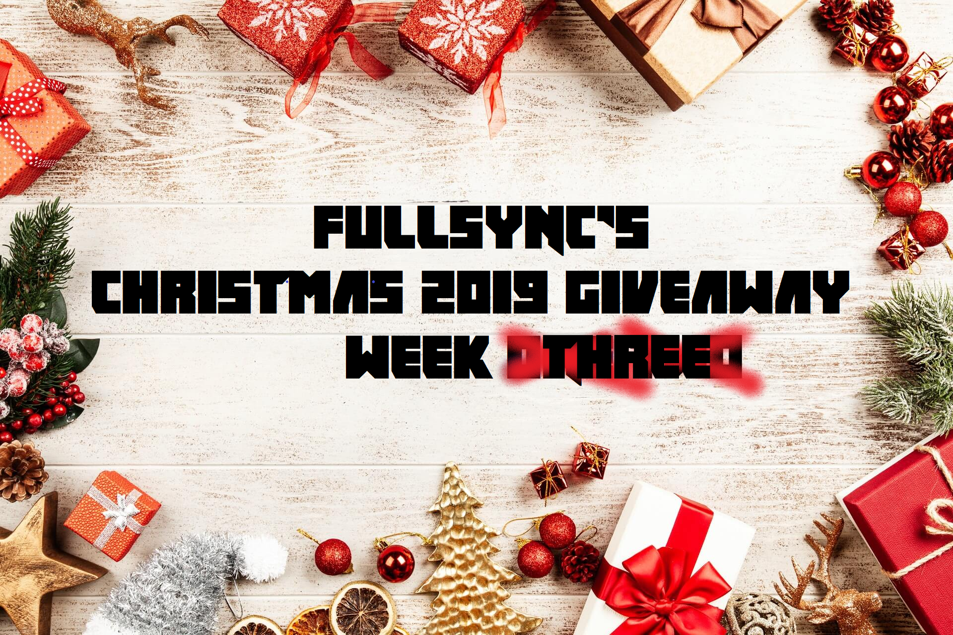Christmas Giveaway Week Three