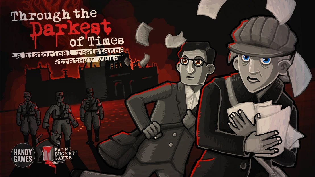 Through the Darkest of Times logo and artwork