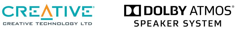 Creative Dolby Atmos logos