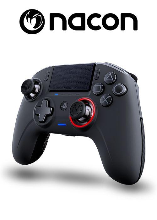 Nacon headsets/ controller logo