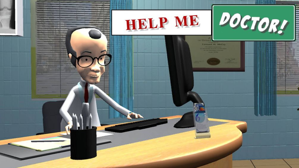 Help Me Doctor Logo