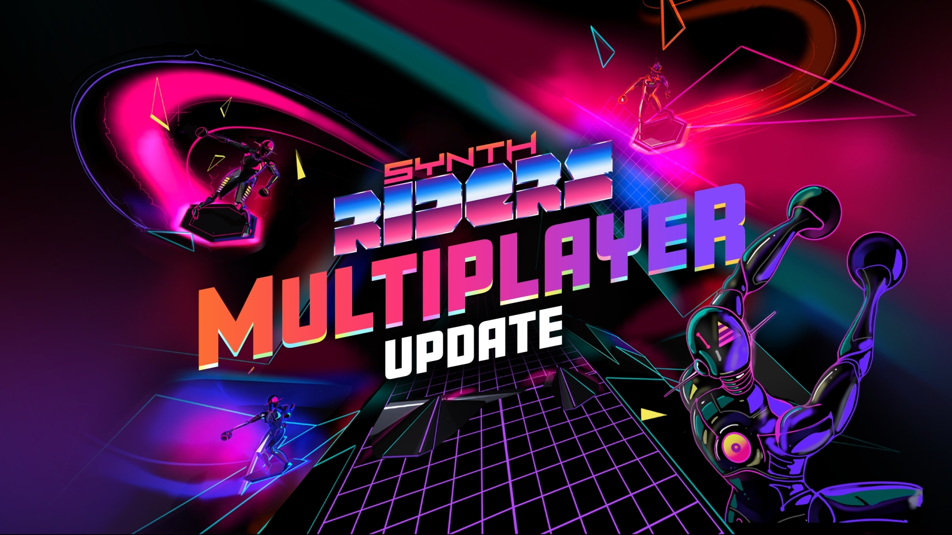 Synth Riders logo for Multiplayer