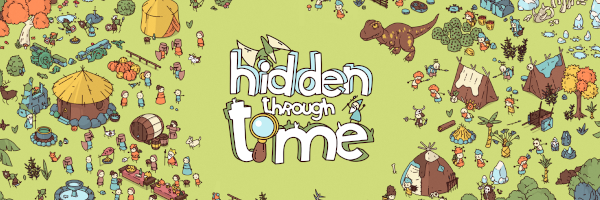 Hidden through time logo