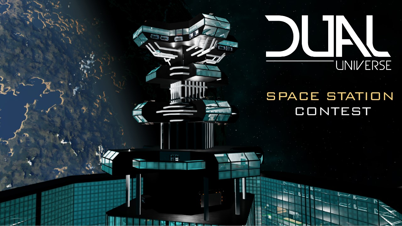 Dual Universe Space Station Contest logo