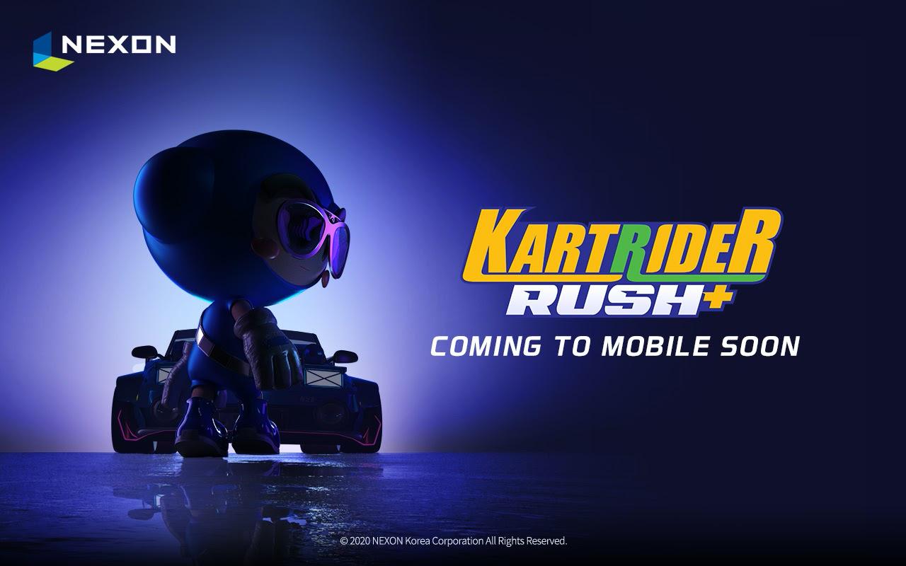 KartRider Rush + coming soon logo