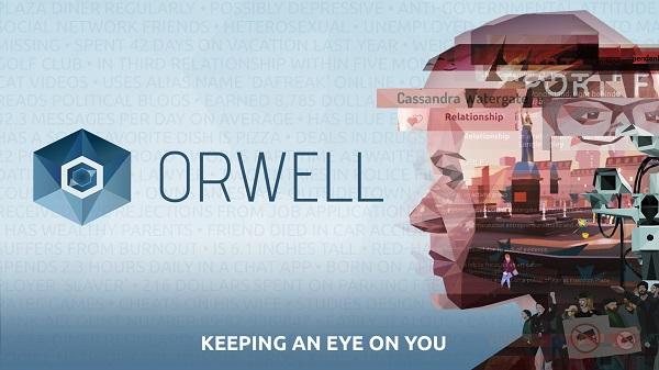 Orwell: Keeping an Eye On You logo