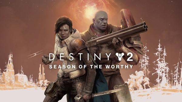 Destiny 2 Season of the Worthy logo and artwork