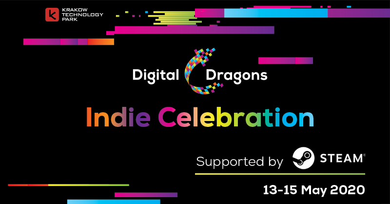 Digital Dragons Indie Celebration supported by Steam poster