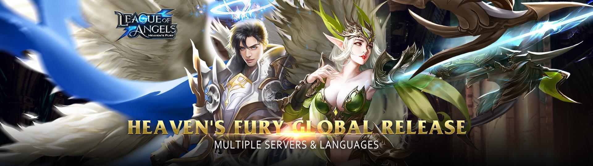 League of Angels Heaven Fury global release