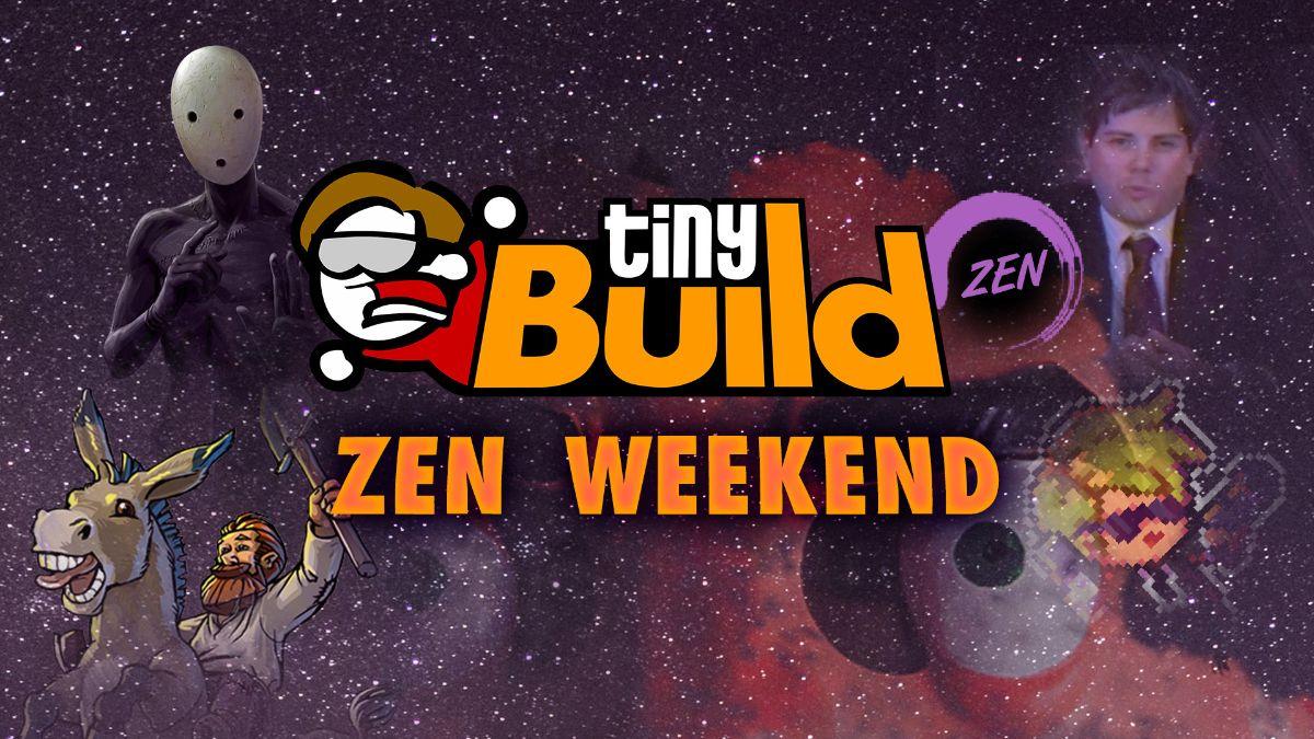 tinyBuild's ZEN Weekend logo