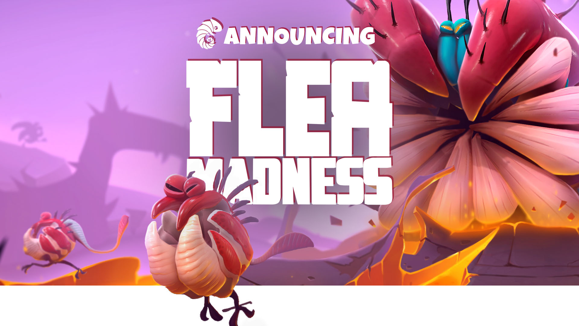 Flea Madness Logo